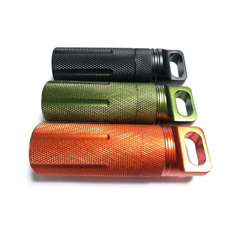 Mini EDC Waterproof Tank Bottles Emergency First Aid Container Storage Seal Survival Medicine Pill Camping Outd FC
