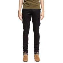 جينز ضئيلة الجينز السراويل