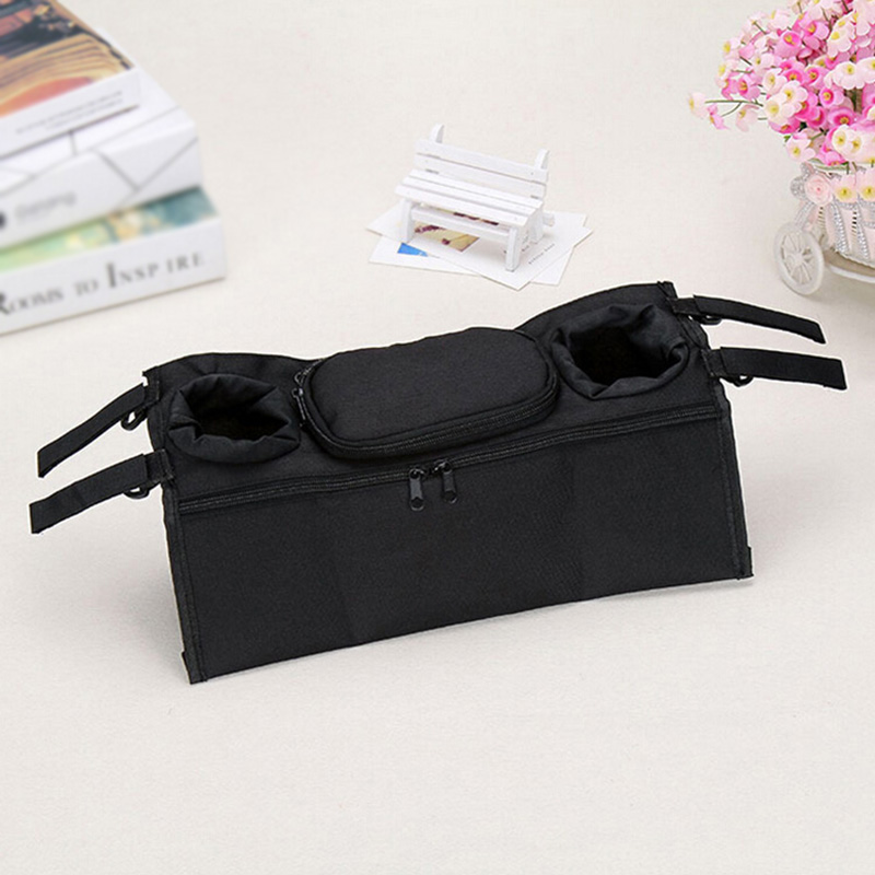 Baby Stroller Cup Organizer Baby Stroller Organizer Bottle Bags for Umbrella Hanging Carriage Pram Buggy Cart Stroller Accessory