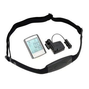 Image 5 - Lixada ordenador de ciclismo multifuncional 3 en 1, pantalla LCD inalámbrica con control del ritmo cardíaco y cadencia, correa para el pecho