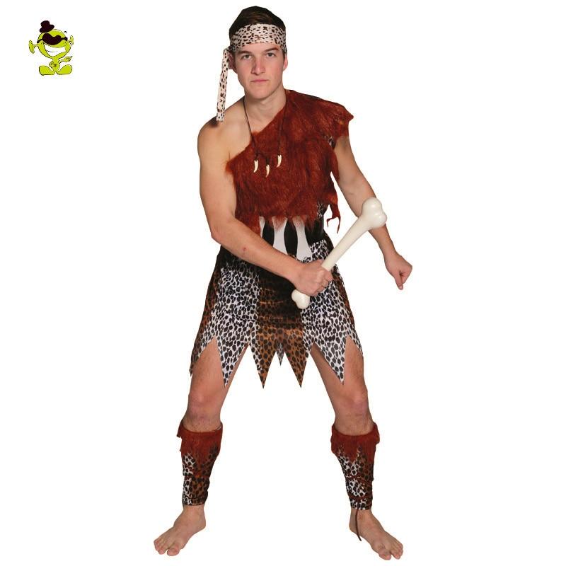 Aliexpress.com : Buy New Jungle Caveman Cosplay Carnival Costumes ...
