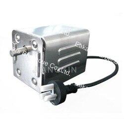 Motor asador de acero inoxidable para barbacoa con capacidad de 40 kg