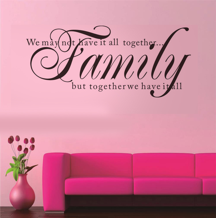 We May Not Have It All Together vinyl wall decal quote home decor ...