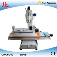 Russia tax free 5 axis cnc router 6040 cnc milling machine with high performance