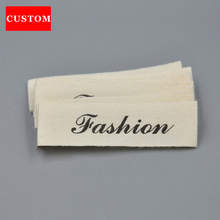 factory customized garment washing label rice cotton clothing printed personalized shoes labels handmad private