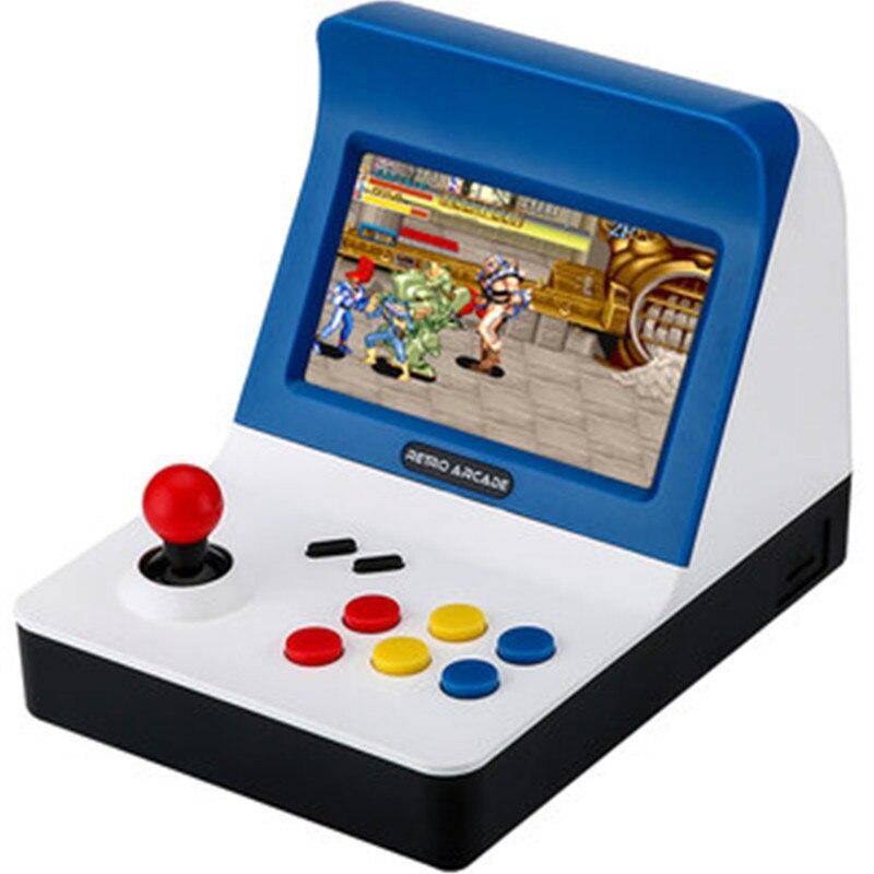Rétro ARCADE Mini Vidéo Jeu Console 4.3 pouce Construit En 3000 Jeux De Poche Console de Jeu Famille Enfant Cadeau Jouet Pour cadeau de noël