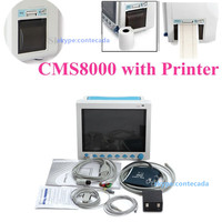CE ICU/CCU Vital Sign Patient Monitor 6 parameter patient monitor with Printer CMS8000 CONTEC