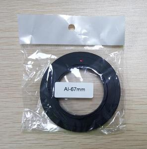 Image 2 - อลูมิเนียมกล้องเลนส์ Macro Reverse Adapter สำหรับ Nikon AI ถึง 49 มิลลิเมตร 52 มิลลิเมตร 55 มิลลิเมตร 58 มิลลิเมตร 62 มิลลิเมตร 67 มิลลิเมตร 72 มิลลิเมตร 77 มิลลิเมตรด้าย