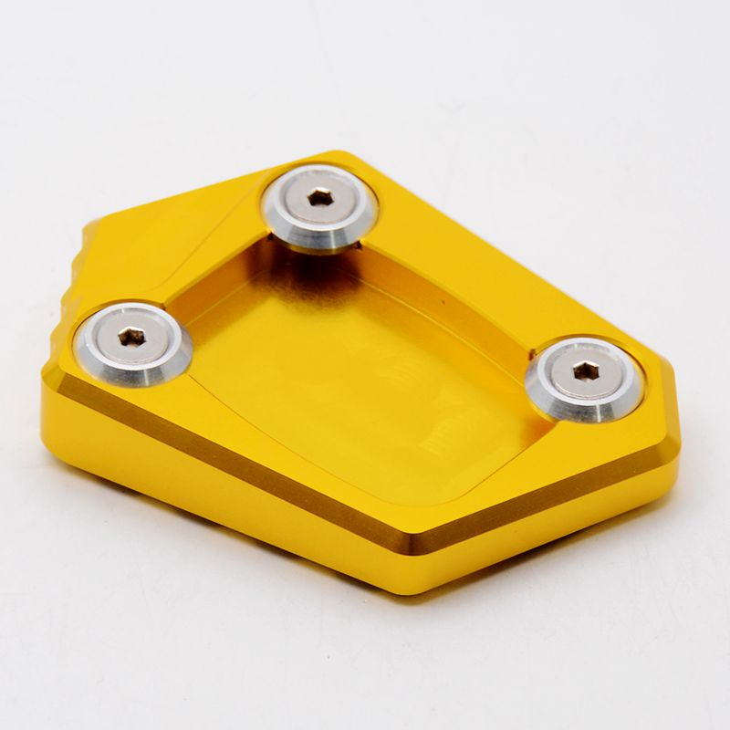 CNC Motorcycle Side Kickstand Stand Extension Plate Pad for HONDA NM-4 CB250F CB650F CBR650F CBR300R 2014-2015 стоимость