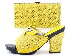 African Italienische Schuhe Mit Passenden Taschen Für Party, hohe Qualität Schuhe Und Taschen für Hochzeit (Szie: 37 oder 43)! Q1-27