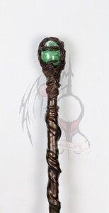 """Image 3 - عصا Maleficent ساحرة داكنة تأثيري عصا سحرية تأثيري الدعائم نموذج جمع جودة عالية 55 """"طول"""