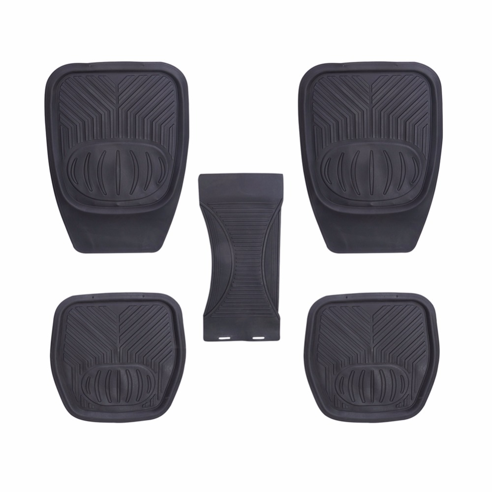 Silica Gel Car Floor Mats Automobile Interior Accessories Front Rear Carpet Heavy Duty Floor Mat