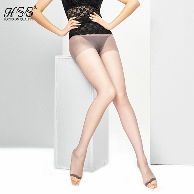 Anti-hook Slim Sexy Black Sheer Body Sculpting Tights