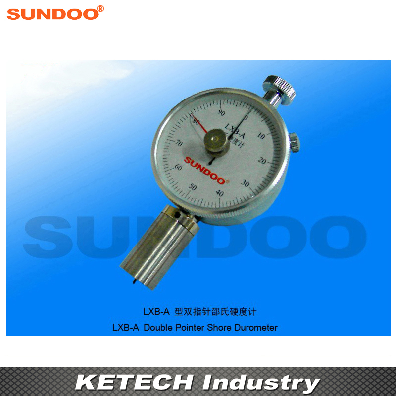 Sundoo LXB-A Portable Double Pointer Shore Durometer
