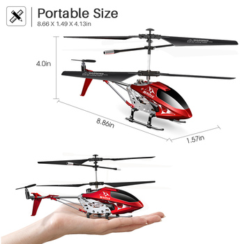 2.4G 3.5CH Hover Altitude Hold RC Helicopter With Gyro RTF - S107H 4