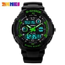 2016 nueva S choque relojes hombres deportes Skmei marca de calidad de alarma analógico Digital reloj militar del Relogio Masculino reloj Digital