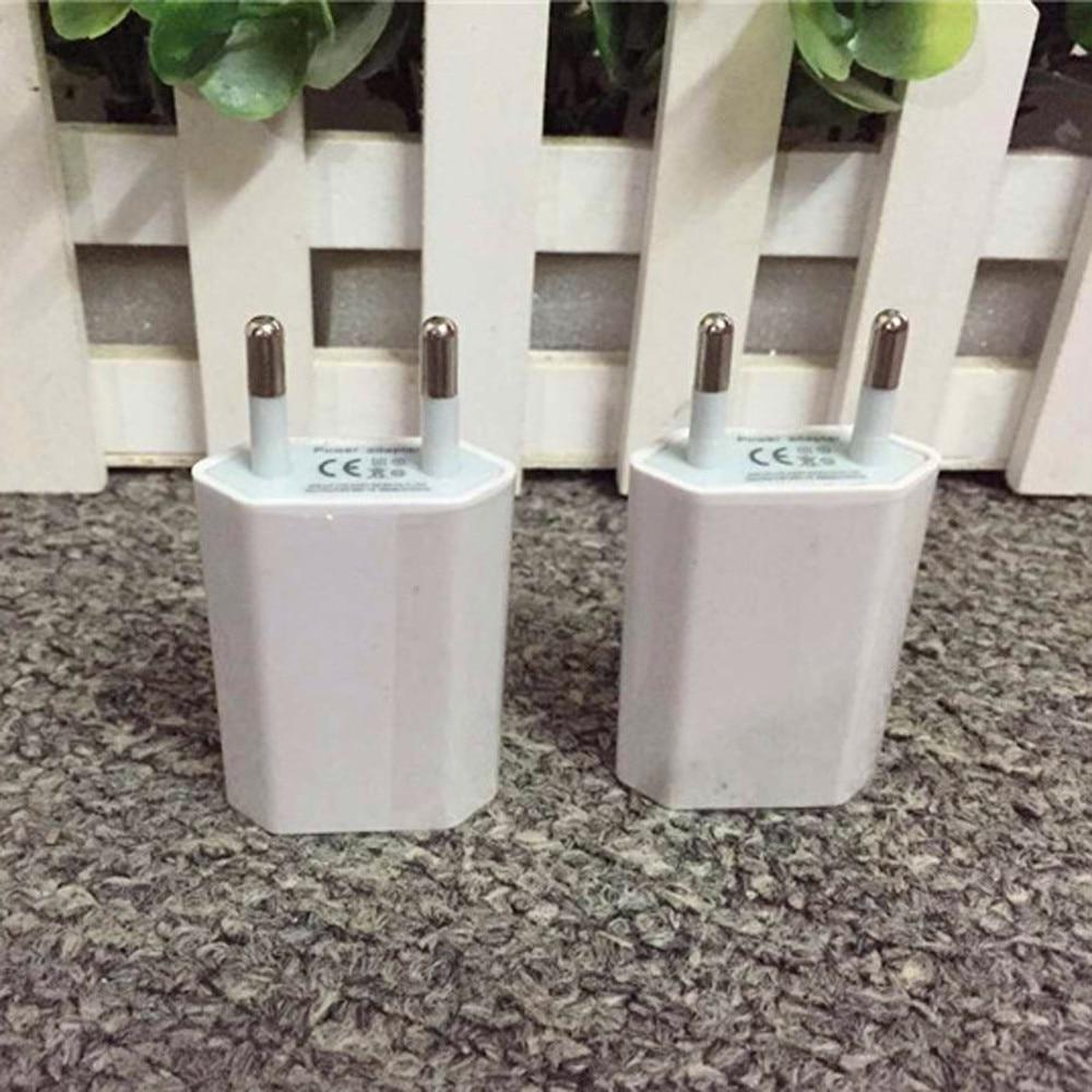Европейский USB адаптер питания с европейской вилкой, настенное зарядное устройство для путешествий для iphone, samsung, LG, G5, для дома, офиса и путешествий, новинка