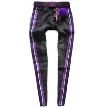 plus size 4XL! spring autumnr fashion new women jeans high w