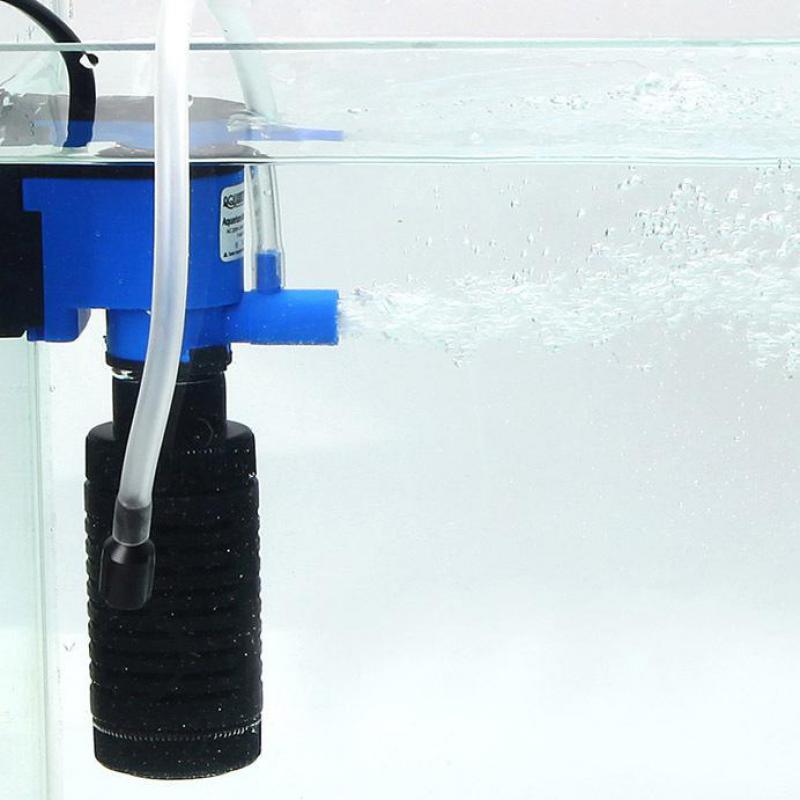 3 në 1 Aquarium Mini Pompë zhytëse e filtrit të brendshëm me - Produkte për kafshet shtëpiake - Foto 6