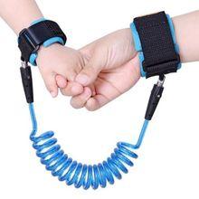 Эластичный поводок для ходунков для маленьких мальчиков и девочек, Регулируемый Детский безопасный соединитель на запястье, пояс для поводка