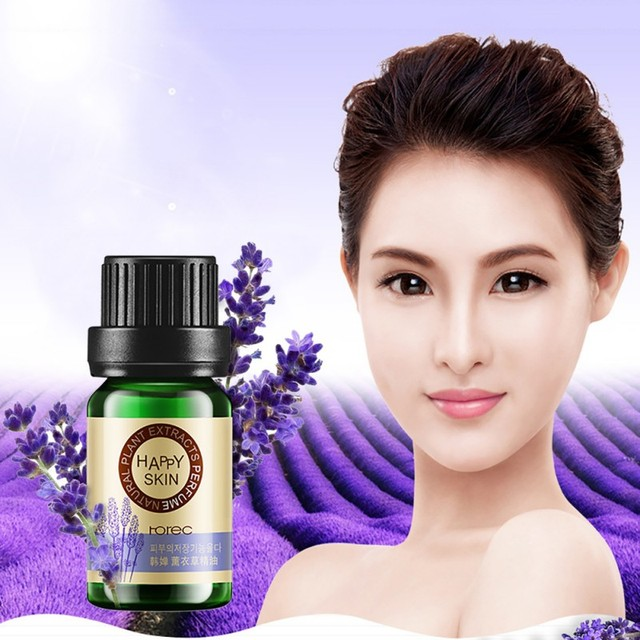 Rose Lavender Tea Tree Essential Oil Face Skin Care Hyaluronic Liquid Anti Wrinkle Oil-control Moisturizing Hot Sales 10ml