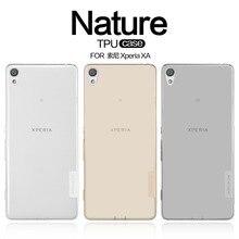 Для Sony Xperia XA чехол TPU, Nillkin Ультра тонкий прозрачный природа силиконовый чехол для Sony Xperia XA/F3113/F3112/F3115 Мягкая обложка