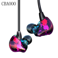 CBAOOO In Ear Earphone Bass Headphone Housing Earbuds Noise Cancelling Headset Stereo With Microphone For Earpods