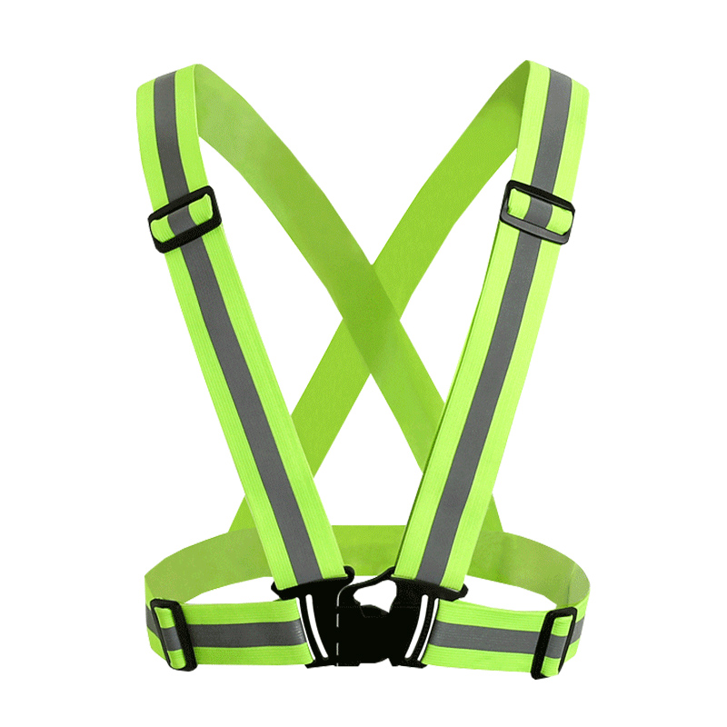Reflective Protective Elastic Straps Reflective Clothing Elastic Webbing For Running Riding Cycling Traffic Safety
