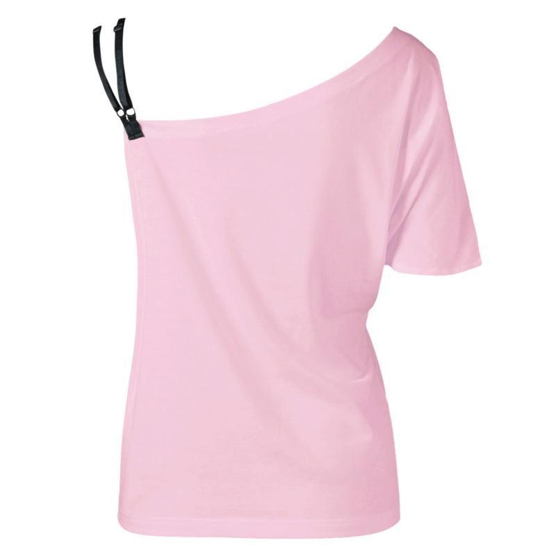 HTB1Q  SQVXXXXbJXVXXq6xXFXXXg - 2017 Women T Shirts Skew Collar Butterfly Printed T-shirt
