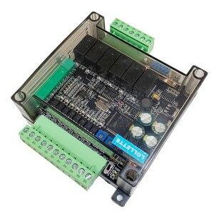Image 4 - LE3U FX3U 14MR 6AD 2DA RS485 8 input 6 relay output 6 analog input 2 analog (0 10V) output plc controller  RTC (real time clock)