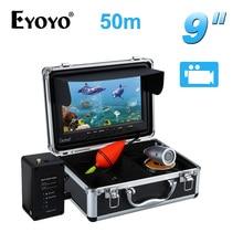EYOYO 9 «Vidéo Fish Finder 50 M Caméra Étanche De Pêche Sous L'eau DVR Enregistreur 12 pcs Blanc LED 8 GB SD CARTE