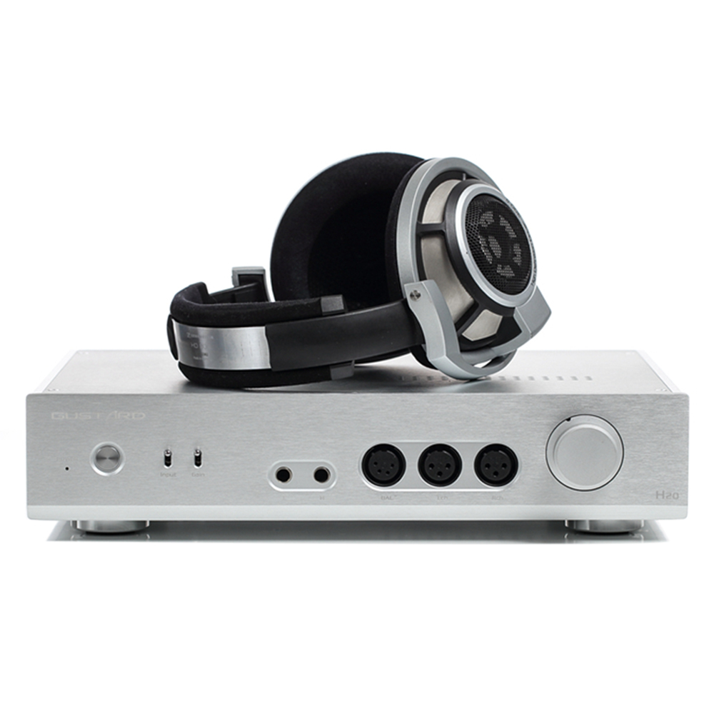 Gustard H20 Full Balanced Class A Pre Amp Dual LM49720 Opamp Headphone Amplifier dhl ems 5 lots burr brown opamp op amp opa627ap opa627 2pcs g2