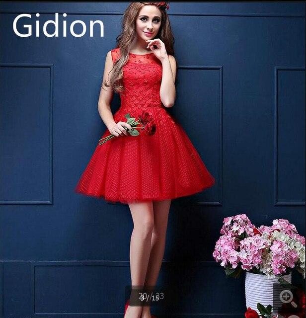 8a29a96696f Новинка 207 короткие красная линия коктейльное платье без рукавов с  открытой спиной пикантные миниатюрных девушек Pageant