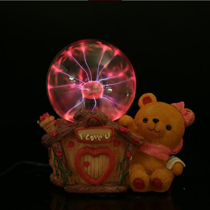 Creative Gift Home Decoration Static Electricity Induction Ball Light Ion Magic Ball Home Decorations Light Magic Light Lights & Lighting