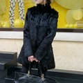 New Genuine Rabbit Fur Coat Women Fashion Real Rabbit Fur Jacket Warm Winter Natural Rabbit Fur Outwear