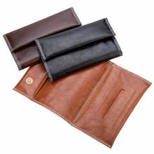 New PU Leather Tobacco Bag Portable Cigarette Rolling Pipe Tobacco Case Wallet Tip Paper Holder Smoking Accessories 1PC
