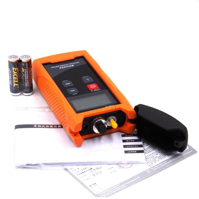BOU350-V10 High Precision -70~+10dBm Handheld Fiber Optical Power Meter and Visual Fault Locator 10mw 10KM