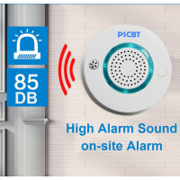 WIFI Smoke Detector Wireless Independent Fire Protection Sensor Home Factory Security Alarm Android IOS APP Control