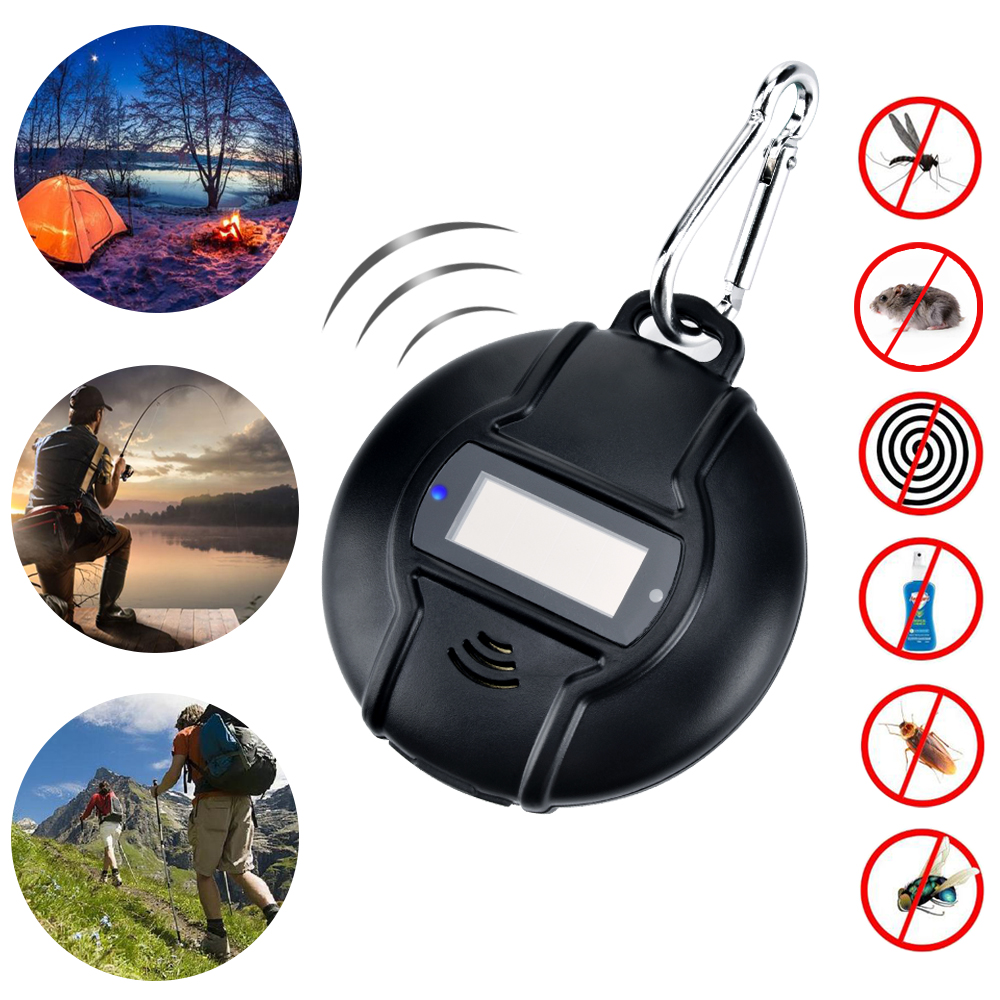 Solar Ultrasonic Pest Repeller Portable Micro USB Powered Ultrasonic Mosquito Repeller with USB Data CableSolar Ultrasonic Pest Repeller Portable Micro USB Powered Ultrasonic Mosquito Repeller with USB Data Cable