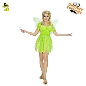 Image 1 - Novo adorável trajes de fadas adulto feminino carnaval festa elf role play vestido de verão trajes de princesa