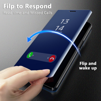 GETIHU 360 Mirror Flip Case for Samsung Galaxy S6 S7 S8 Plus Edge Case Coque Cover For Samsung S8 S9 Plus Note 8 9 A5 A8 A7 Case 1