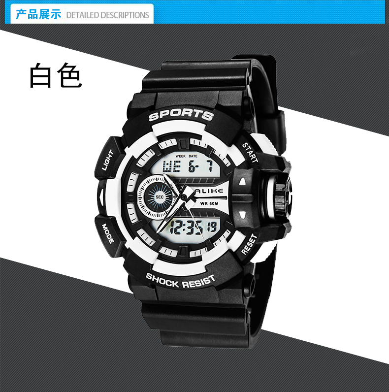 Watches Digital Watches Fashion Waterproof Kids Boy Girl Digital Stopwatch Swimming Wrist Wach K41
