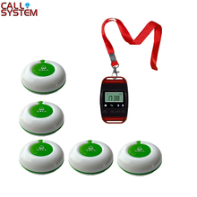 купить Waiter buzzer paging system 1 watch receiver with neck rope and 1 call button sample order for test по цене 3484.52 рублей
