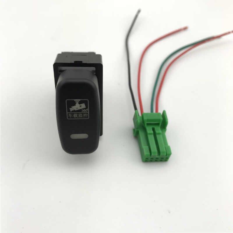 DRL LED antibrouillard avant caméra enregistreur moniteur Radar capteur de stationnement bouton de commutation pour Mitsubishi Zinger LANCER FORTIS galant