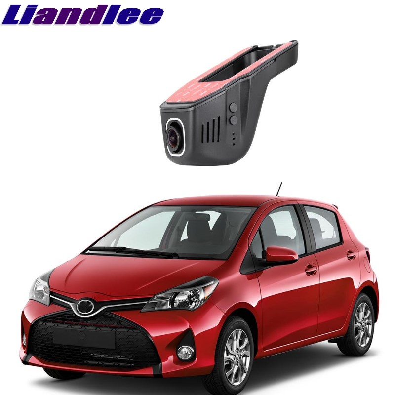 Liandlee For Toyota Yaris XP90 XP130 2005~2018 Car Black Box WiFi DVR Dash Camera Driving Video Recorder цена