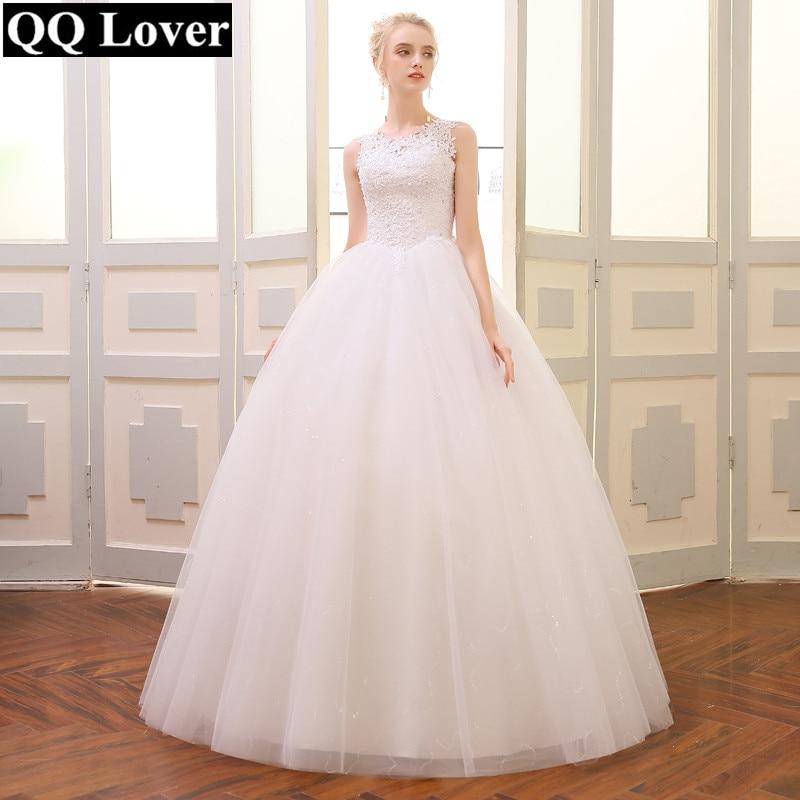 QQ Lover 2019 High Quality Ball Gown Wedding Dress Alibaba Wholesale Price Cheap Vestido De Novia Bridal Gown
