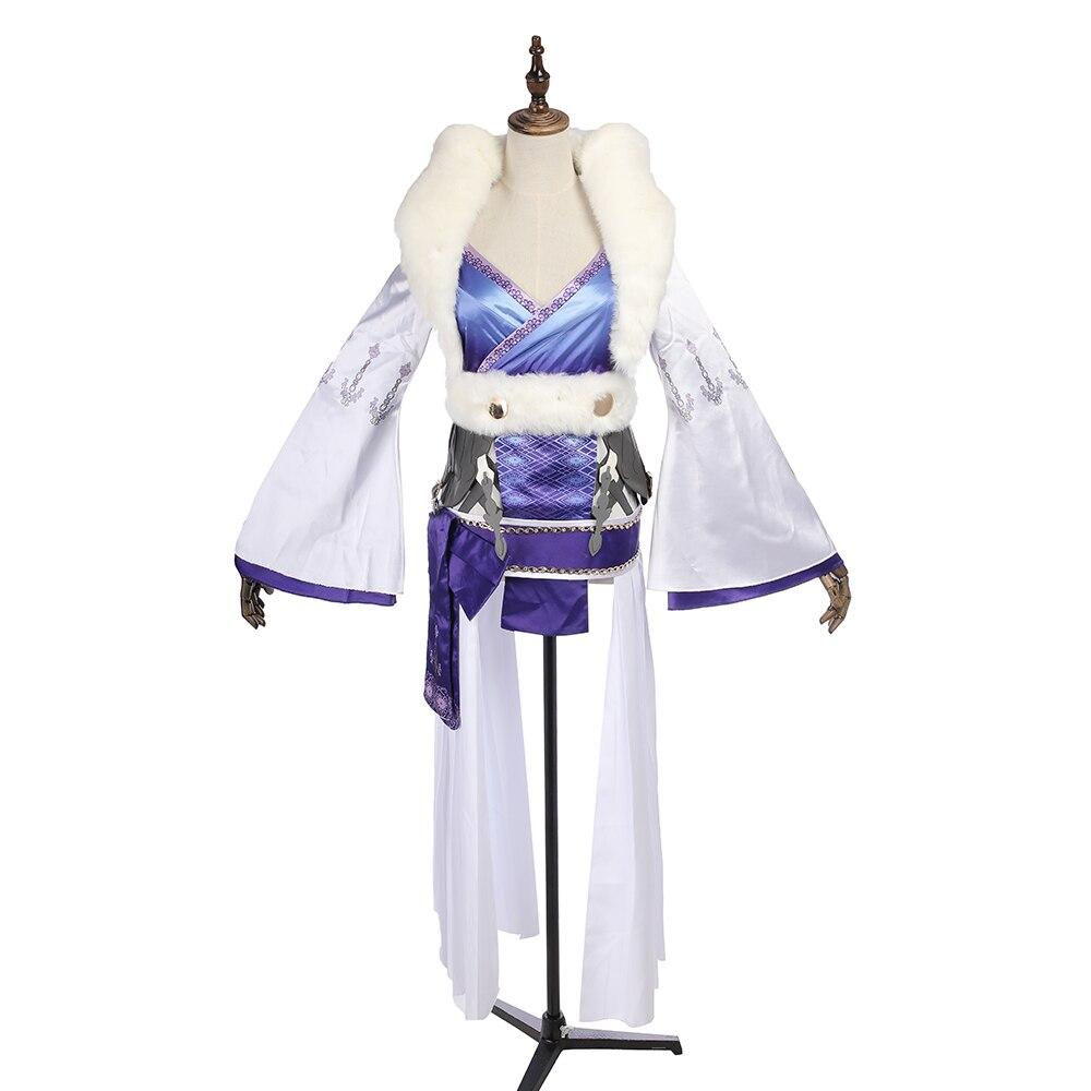MANLUYUNXIAO SINoALICE Costume Kaguya Cosplay Costume Halloween Party Dress Full Set High Quality Halloween Costumes Custom Made