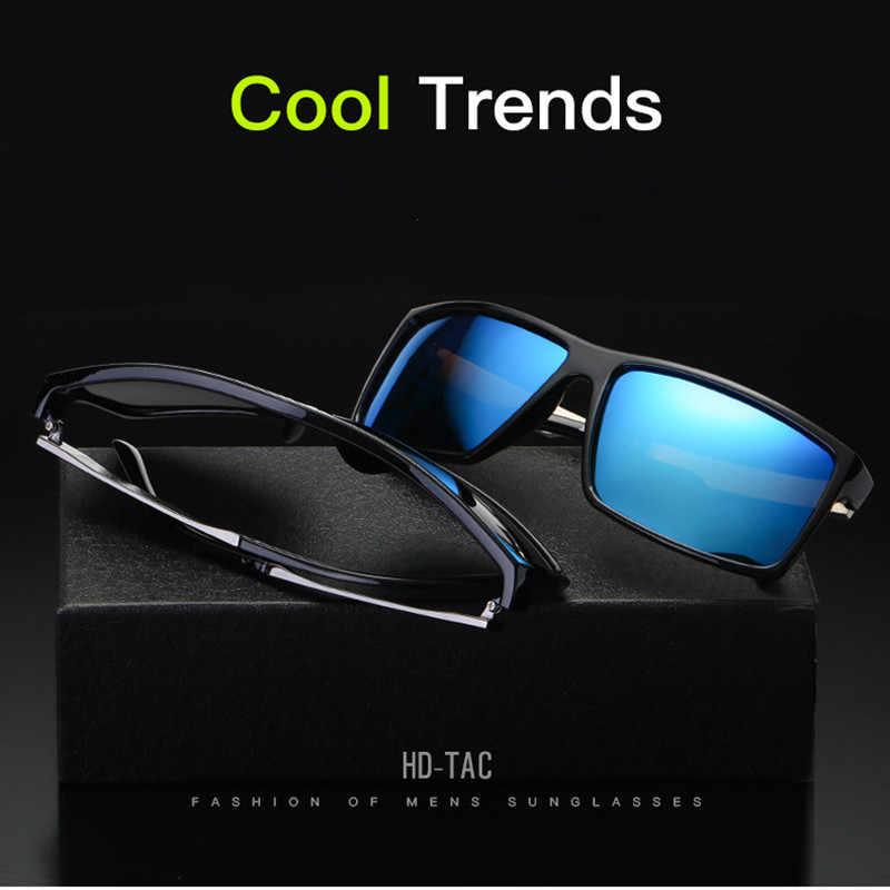 5b055c0add JURUI Black Square Sun Glasses For Men Gradient J6624 UV400 Sunglasses Men  Brand Designer 2018 masculinos