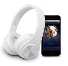 Fones de Ouvido Bluetooth Cancelamento de Ruído Ativo fone de Ouvido Sem Fio Estéreo apoio TF cartão de 3.5mm AUX com microfone para GALAXY Iphone Xiaomi