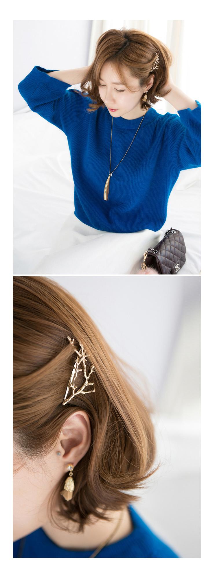 HTB1Q_cIJpXXXXayXVXXq6xXFXXXG Hip Women Scissors/Branches Fashion Clip For Hair - 2 Colors